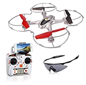 Holy Stone X300C FPV RC Quadcopter Drone with Wifi Camera 2.4G 4CH 6-Axis Gyro RTF Headless Mode Includes Googles and Bonus Battery