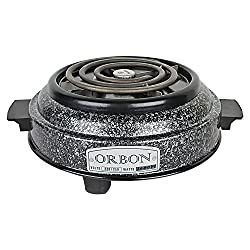 Orbon 1000-Watt G Coil Hot Plate Induction Cooktop / Induction Cookers / Handy G Coil Cooktop ( With Attached 2 Mtr. Cord )