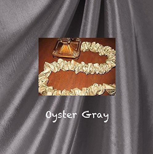 faux silk 9 39 custom hand made decorator fabric electric cord cover oyster grey home garden. Black Bedroom Furniture Sets. Home Design Ideas