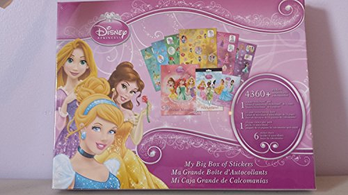 Disney Princess ~ My Big Box of Stickers