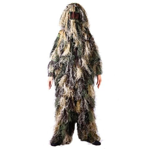Ghillie Suit Woodland Camouflage