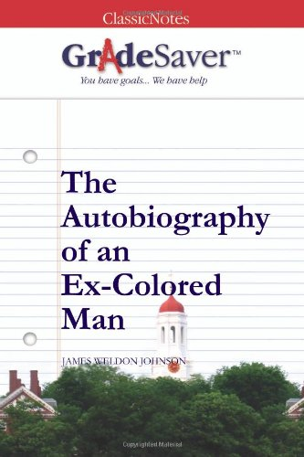 autobiography of an ex colored man essay writer