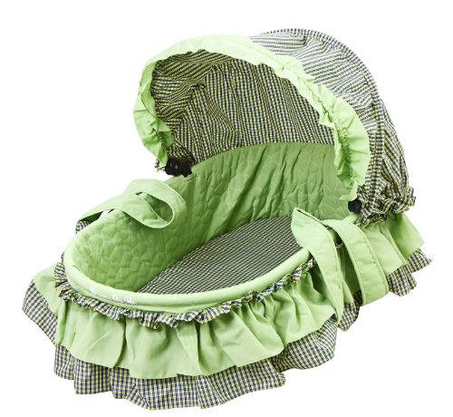 Dream On Me, Layla 2 in 1 Bassinet To Cradle, Green - 1