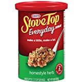 Stove Top Stuffing Mix, Homestyle Herb, 8-Ounce Canisters (Pack of 6) ~ Stove Top