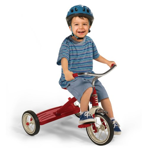 Radio Flyer Classic Tricycle With Push Handle Red New