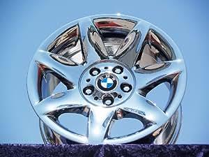 BMW 525i SportStyle 81: Set of 4 genuine factory 17inch chrome wheels