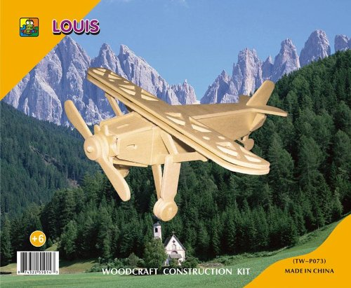 Picture of China Towins Gifts & Toys 3d Wooden Puzzle-louis (B002GJIX98) (3D Puzzles)