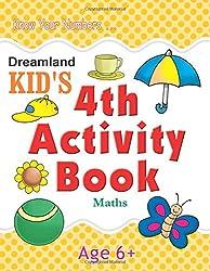 4th Activity Book - Maths (Kids Activity Books)