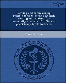 Proquest umi dissertation publishing