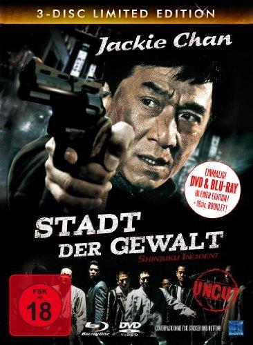 Stadt der Gewalt - Uncut (Limited Edition, 2 DVDs + Blu-ray) [Collector's Edition]