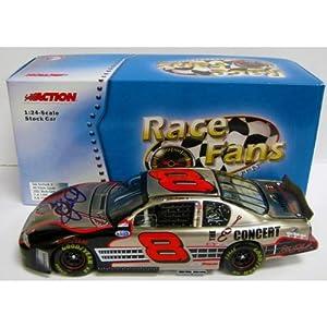 Dale Earnhardt Jr. Autographed 1:24 Scale Die Cast Car - Autographed NASCAR Diecast... by Sports Memorabilia