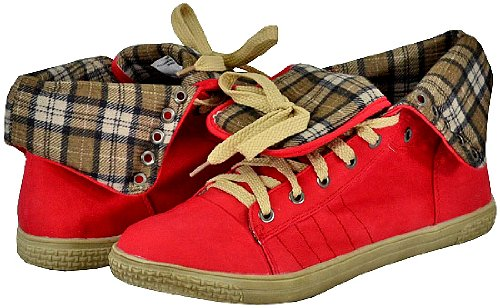 Blossom Cassey-5 Red Women Casuals