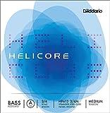 D'Addario ダダリオ ウッドベース(コントラバス)弦 HP613 3/4M Helicore Pizzicato Bass Strings / A-nickel 【国内正規品】