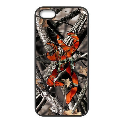 Browning Camo Deer Hunter Cell Phone Case for Iphone 5s