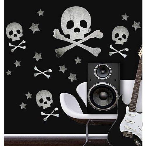 Big Skulls Vinyl Mural Wall Stickers