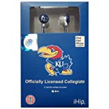 Kansas Jayhawks iHip Ear Buds at Amazon.com