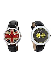 Gledati Men's Multicolor Dial And Foster's Women's Grey Dial Analog Watch Combo_ADCOMB0001900