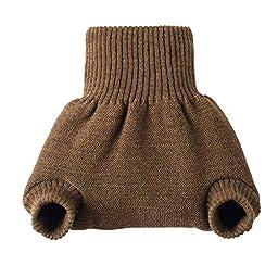 Disana Organic Merino Wool Cover-Chocolate-74/80 (6-12 mo)