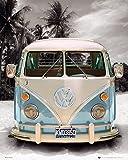 Vw Transporter Poster Love California Camper
