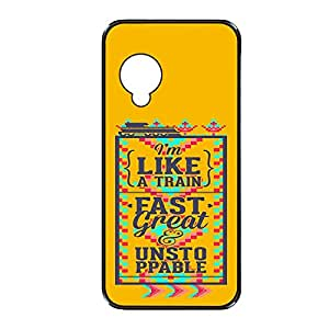 Vibhar printed case back cover for Nexus 5 FastGreat