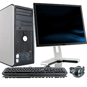 Dell OptiPlex 755 Intel Core 2 Duo 2300MHz 80Gig Serial ATA HDD 4096mb DDR2 Memory DVD ROM Genuine Windows 7 Professional 64 Bit + 17