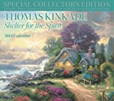Thomas Kinkade Special Collectors Edition 2014 Deluxe Wall Calendar: Shelter for the Spirit