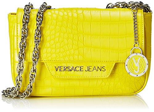 Versace Jeans Ee1Vnbbc Borsa a Mano, 22 cm, Colore Giallo