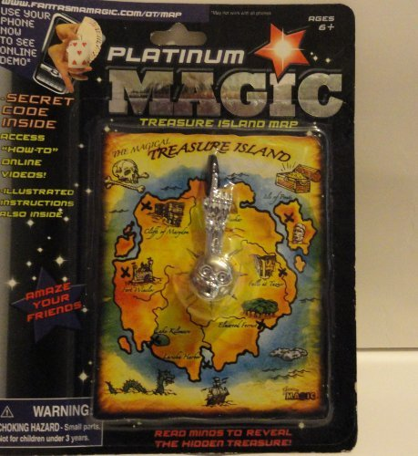 Platinum Magic Treasure Island Map