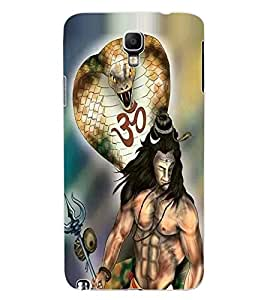 ColourCraft Lord Shiva Design Back Case Cover for SAMSUNG GALAXY NOTE 3 NEO N7505