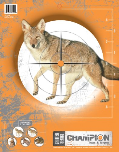 Critter Series Targets, 11x14  - 10pk (Airsoft Animal Targets compare prices)
