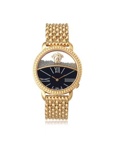 Versace Women's 93Q80BD008 S080 Krios Gold IP Micro Spheres Watch