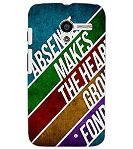 MOTOROLA MOTO XTEXT Back Cover by PRINTSWAG