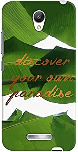 DailyObjects Discover Your Own Paradise Tropical Case For Xiaomi Redmi Note 2
