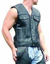 Big Sale Milwaukee Motorcycle Clothing Company Men's Gambler Vest (Medium)