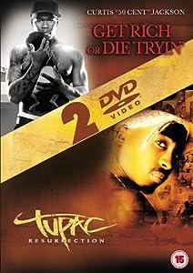 Get Rich Or Die Tryin'/Tupac - Resurrection [DVD]