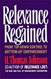 Relevance Regained (0743236270) by Johnson, H. Thomas