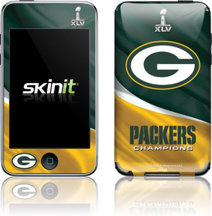 Skinit 2011 Super Bowl Green Bay Packers Vinyl Skin For Ipod Touch (2nd & 3rd Gen) Picture