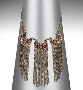 Limited Collection Athena Fringe Necklace - Marks & Spencer   Marks & Spencer