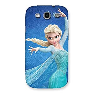 Ajay Enterprises Freezing Princessoy Back Case Cover for Galaxy S3
