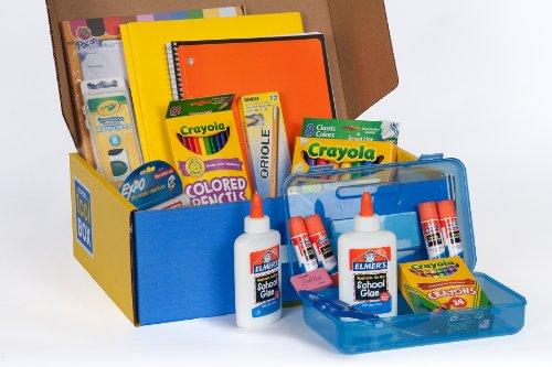 School Tool Box Kindergarten Mega School Supplies Kit In Keepsake Box