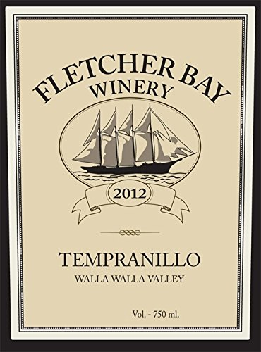 2012 Fletcher Bay Winery Walla Walla Valley Tempranillo 750 Ml