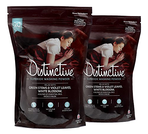 Distinctive Superior Washing Powder - NEW relaxing fragrance
