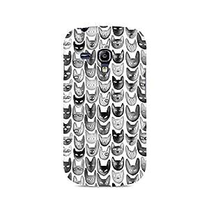 Ebby Cat Love Premium Printed Case For Samsung S3 Mini 8190