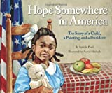img - for Hope Somewhere in America by Sydelle Pearl (2012) Hardcover book / textbook / text book