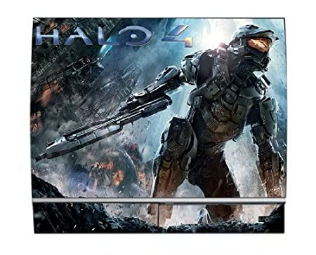 Halo 4 PS3 Limited Edition Game Skin for Sony Playstation 3 Console