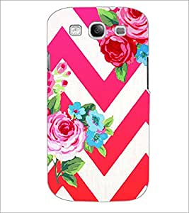 PrintDhaba Flowers D-1176 Back Case Cover for SAMSUNG GALAXY S3 (Multi-Coloured)