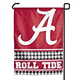"NCAA Alabama Crimson Tide ""Hounds-tooth"" Garden Flag"