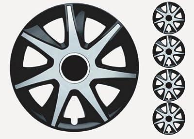 """Radzierblenden Radkappen 15"""" Zoll für Smart schwarz/Silber von Autoteile321 auf Reifen Onlineshop"""