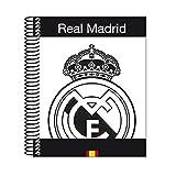 Real Madrid - Bloc A6 micro, 120 hojas (Safta 511557098)