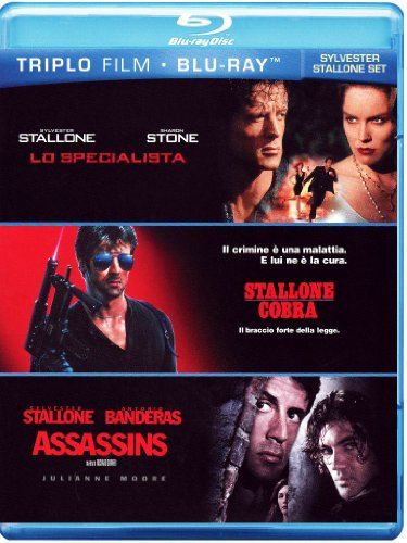 Lo specialista + Cobra + Assassins [Blu-ray] [IT Import]